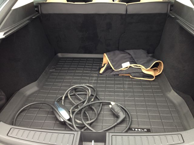 Rear hatch mat