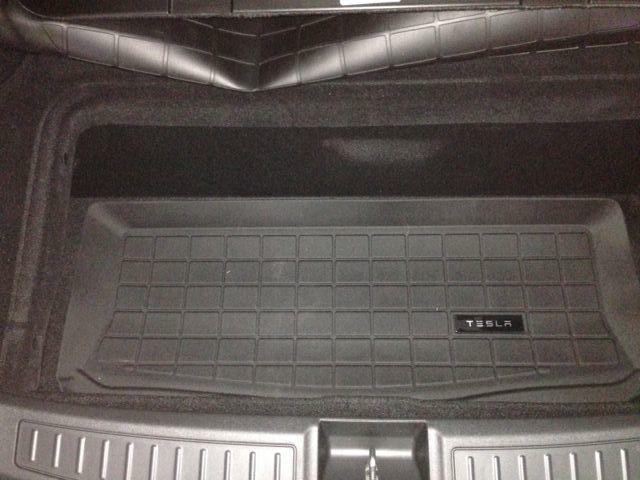 3rd row footwell mat