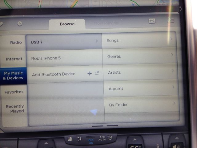 USB Music Groupings