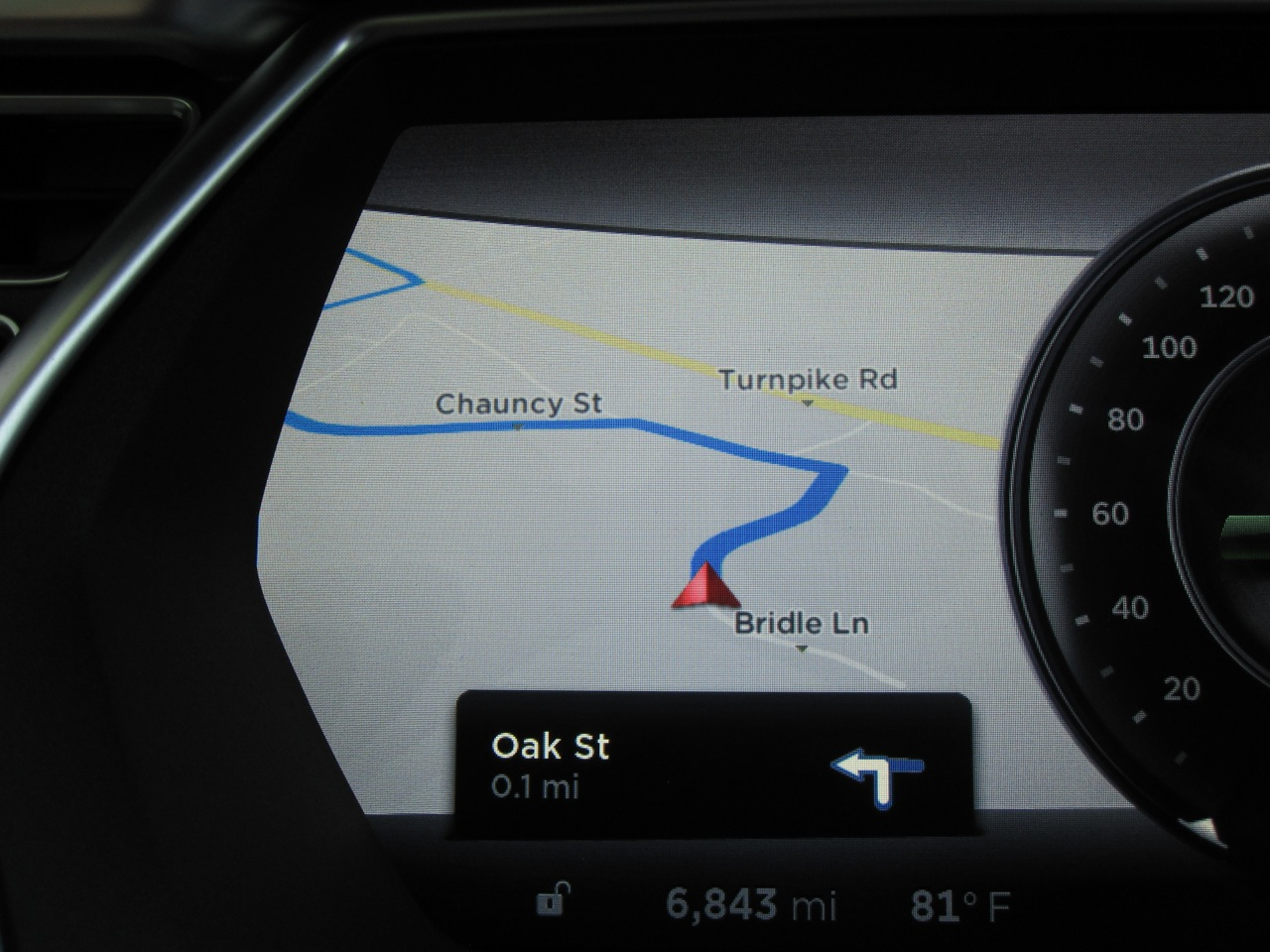 Navigon Display