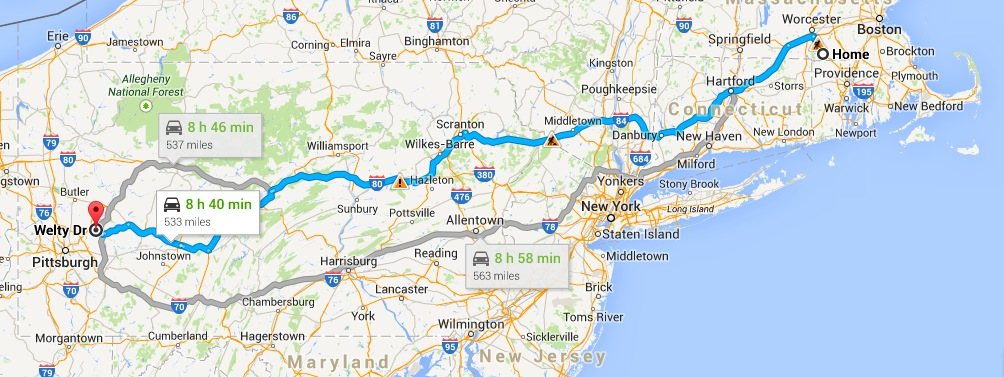 Normal Route to PA