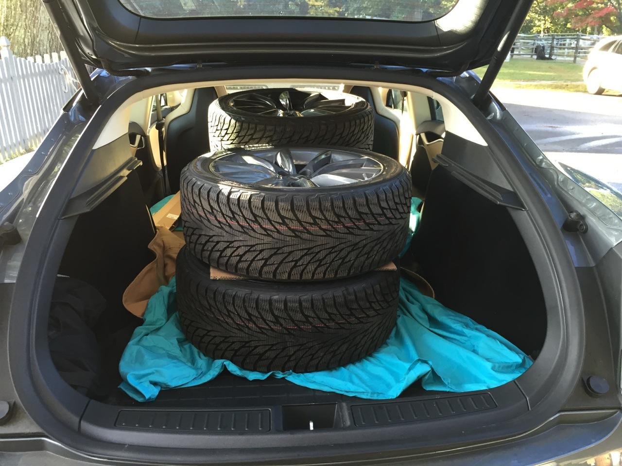 Transporting Wheels