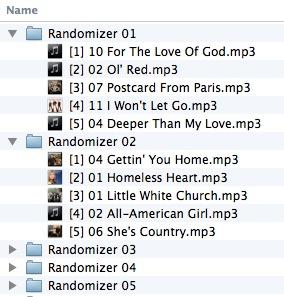 Randomizer Results