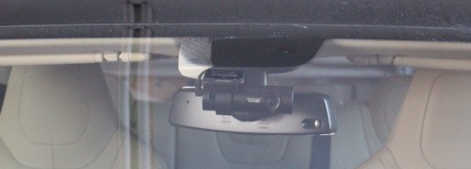Dash Cam Installed