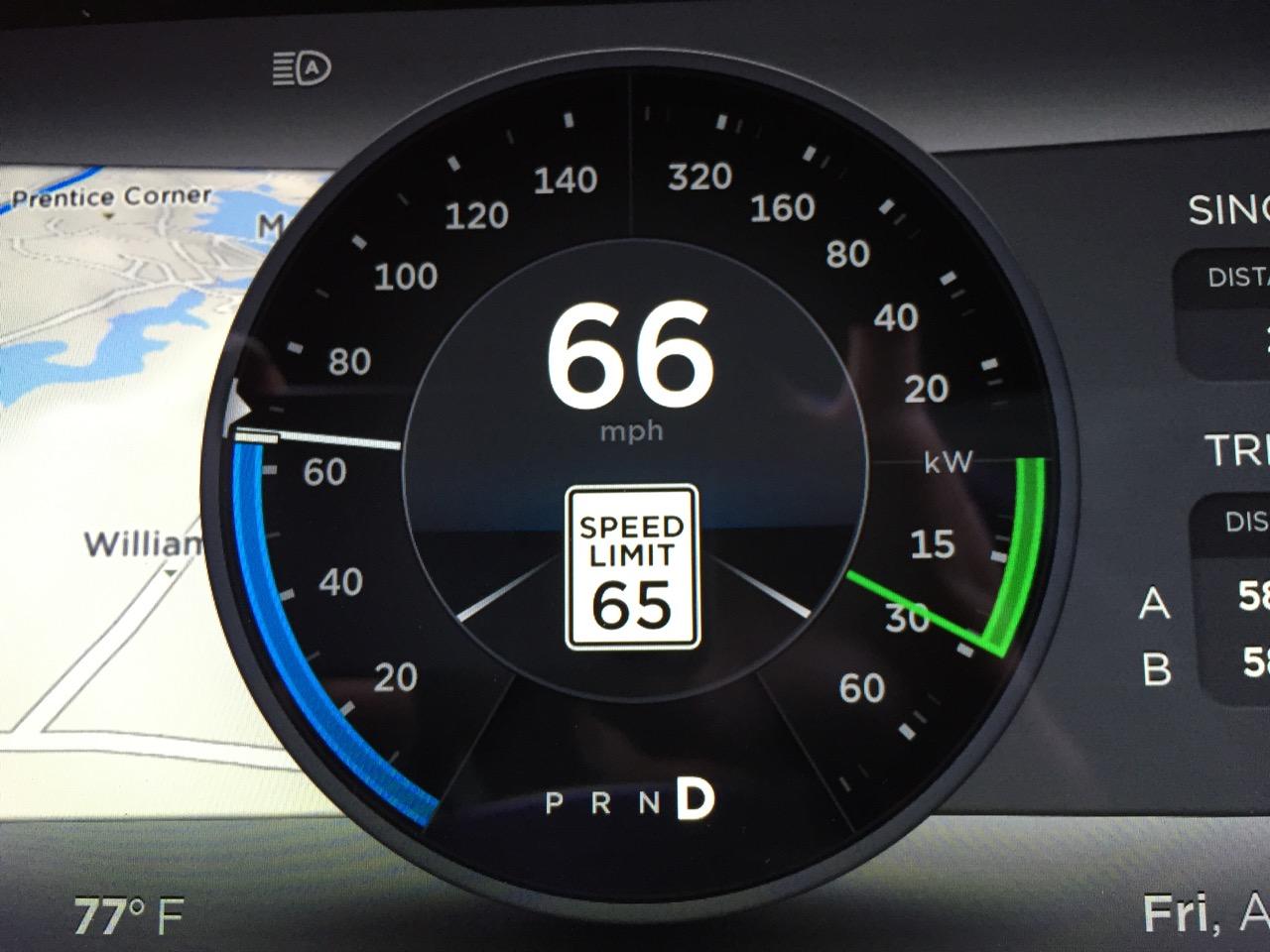 Speed Limit Warning