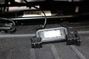 Rear floor light out