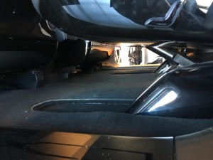 Model X Floor level view