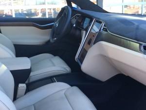 Model X Front Interior