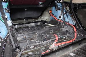The main power hub switching main battery power, charging power, etc.