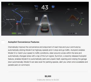 Autopilot Upgrade Price